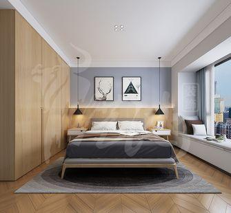 140平米一室两厅宜家风格卧室图片