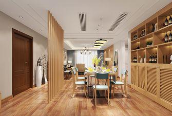 140平米别墅日式风格餐厅欣赏图