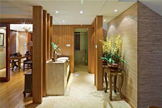 豪华型130平米三室两厅东南亚风格玄关图片