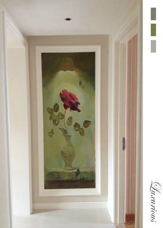 豪华型120平米三室两厅欧式风格走廊图片大全