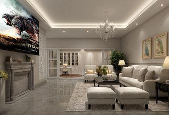 110平米别墅美式风格客厅装修图片大全