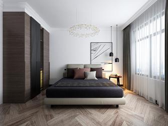 110平米三室三厅混搭风格卧室装修效果图