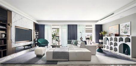140平米四室三厅其他风格客厅图