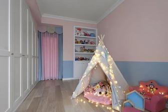 140平米四室一厅美式风格儿童房图