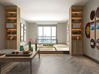 100平米复式日式风格阁楼装修案例