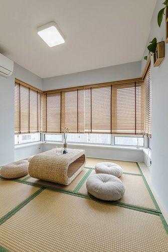 富裕型80平米三室两厅北欧风格书房效果图
