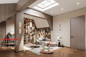 豪华型140平米别墅现代简约风格阁楼图片