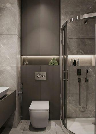 100平米三现代简约风格卫生间装修图片大全