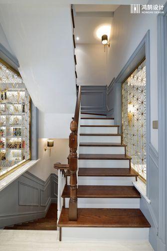 豪华型140平米别墅美式风格楼梯装修案例