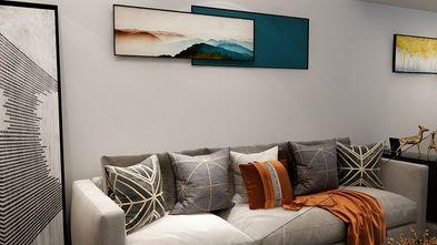 3-5万30平米小户型现代简约风格客厅图