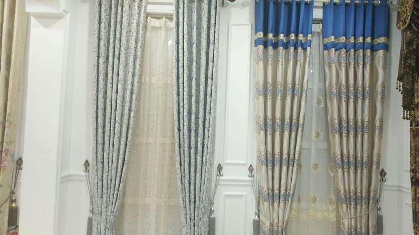 名贵窗帘的图片
