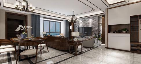 140平米复式新古典风格餐厅装修效果图