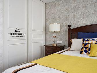 130平米三室两厅法式风格卧室背景墙图片