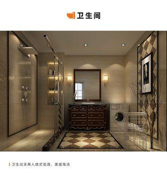140平米四室两厅中式风格卫生间欣赏图