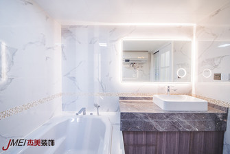 10-15万120平米三室两厅美式风格卫生间设计图