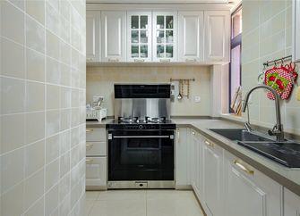 80平米美式风格厨房装修案例