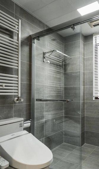 100平米三现代简约风格卫生间设计图