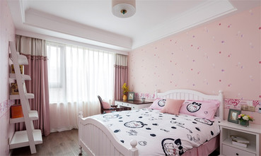80平米三室两厅美式风格卧室设计图