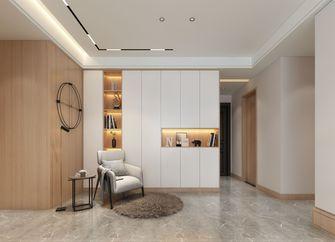 130平米三室两厅现代简约风格走廊欣赏图