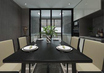 130平米三室一厅宜家风格餐厅图片大全