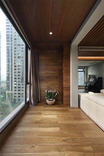 130平米三室两厅现代简约风格阳台装修图片大全
