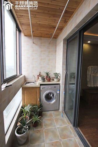 90平米三室两厅东南亚风格阳台欣赏图