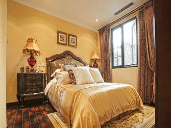 140平米三室三厅田园风格卧室装修图片大全