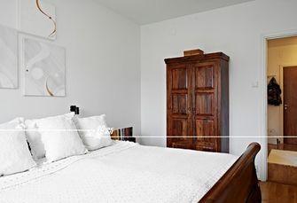 60平米三室一厅田园风格卧室图片大全
