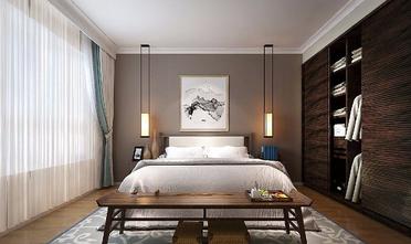 140平米三室两厅新古典风格卧室图
