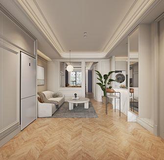 60平米一室两厅法式风格客厅装修效果图