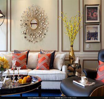 130平米三室两厅美式风格客厅装修图片大全