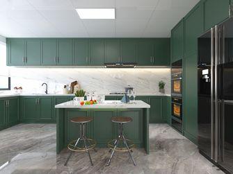 140平米四室四厅美式风格厨房装修效果图