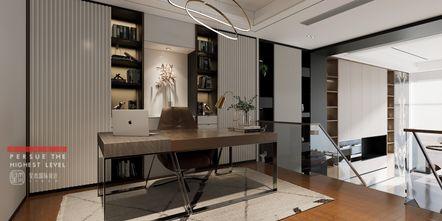 140平米三室四厅现代简约风格书房装修案例