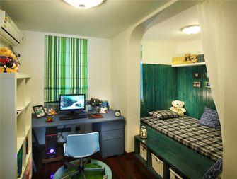 120平米三室一厅田园风格卧室装修案例
