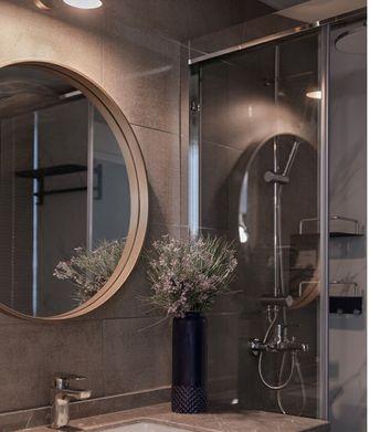 80平米三室两厅现代简约风格卫生间装修效果图