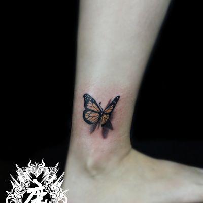 蝴蝶纹身图