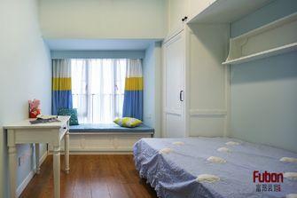 100平米三室一厅英伦风格卧室装修图片大全
