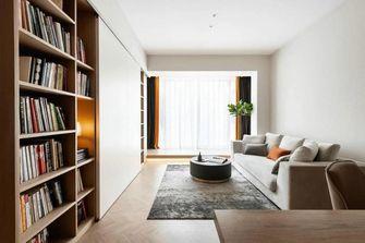 80平米现代简约风格客厅图片大全