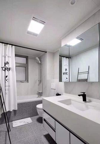 140平米四室两厅混搭风格卫生间图