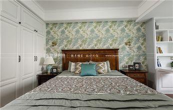 110平米三室两厅美式风格卧室设计图