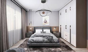 120平米三室三厅混搭风格卧室图片