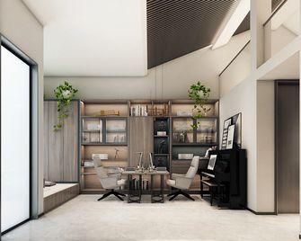 豪华型140平米别墅其他风格书房装修图片大全