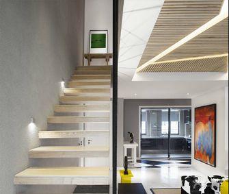 5-10万140平米三室两厅现代简约风格楼梯设计图