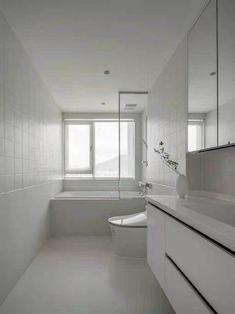 120平米三室两厅日式风格卫生间设计图