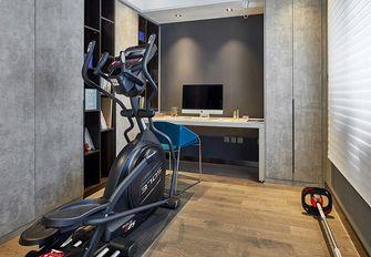 140平米三室一厅北欧风格健身室设计图