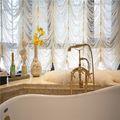 120平米三室两厅欧式风格卫生间浴室柜装修案例