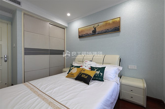 80平米三室两厅现代简约风格儿童房图片