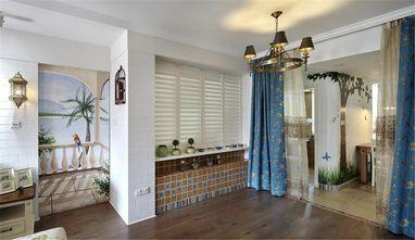 120平米三室两厅地中海风格客厅图片大全