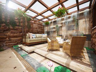 20万以上140平米复式东南亚风格阳光房装修案例