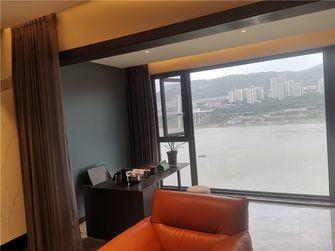 140平米三室两厅现代简约风格阳台图片大全